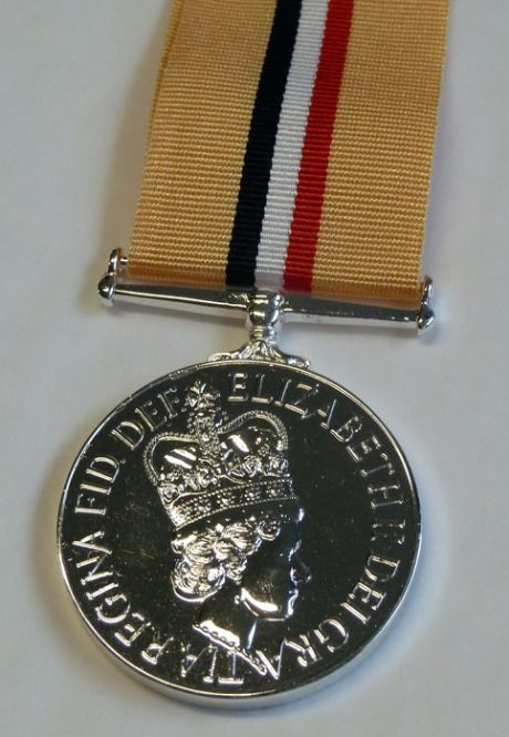 Scottish Medal Shop for the Iraq campaign medal with medal mounting options.